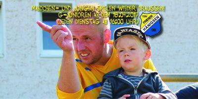 TSV FH - Internetbild G-Junioren wieder draussen