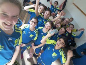 2017-04 - D-Juniorinnen Mannschaftsbild 1