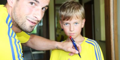Pizzo und Yannik Autogramm