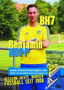 Spielerkarte A6 - Benjamin HOPP