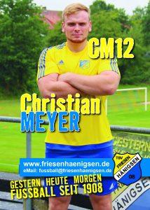 Spielerkarte A6 - Christian MEYER