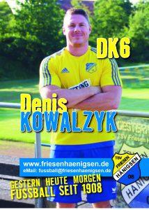Spielerkarte A6 - Denis KOWALZYK