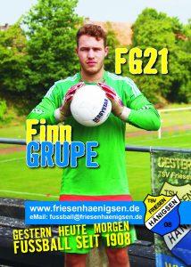 Spielerkarte A6 - Finn GRUPE