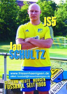 Spielerkarte A6 - Jan SCHULTZ
