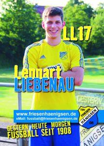 Spielerkarte A6 - Lennart LIEBENAU