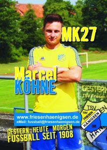 Spielerkarte A6 - Marcel KÖHNE