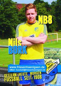 Spielerkarte A6 - Nils BORK