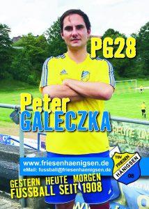 Spielerkarte A6 - Peter GALECZKA