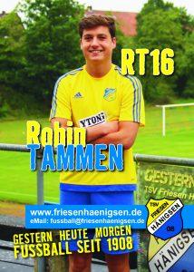 Spielerkarte A6 - Robin TAMMEN