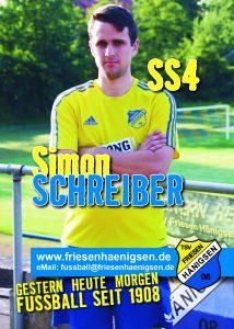 Spielerkarte A6 - Simon SCHREIBER