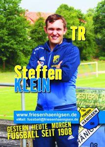 Spielerkarte A6 - Steffen KLEIN
