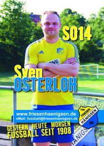 Spielerkarte A6 - Sven OSTERLOH