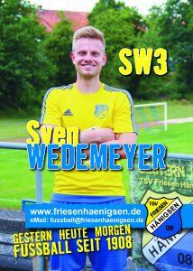 Spielerkarte A6 - Sven WEDEMEYER