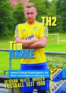 Spielerkarte A6 - Tim HANKE