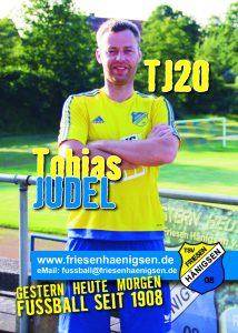 Spielerkarte A6 - Tobias JUDEL