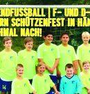 Jugendfussball | F- (8:3) und D-Junioren (15:2) feiern Schützenfest in Hänigsen nochmal nach!