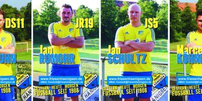 TSV FH - Internetbild Herren - VIERERKETTE 2017