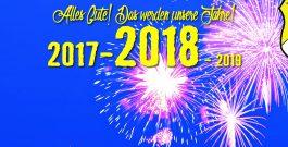 Guten Rutsch und frohes neues Jahr 2018 wünschen die Fußball des TSV Friesen Hänigsen!