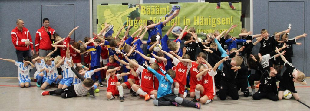 Teambild - F-Junioren - 2017-12-03