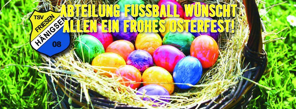 TSV FH - Internetbild Festtage - Frohes Osterfest 2018