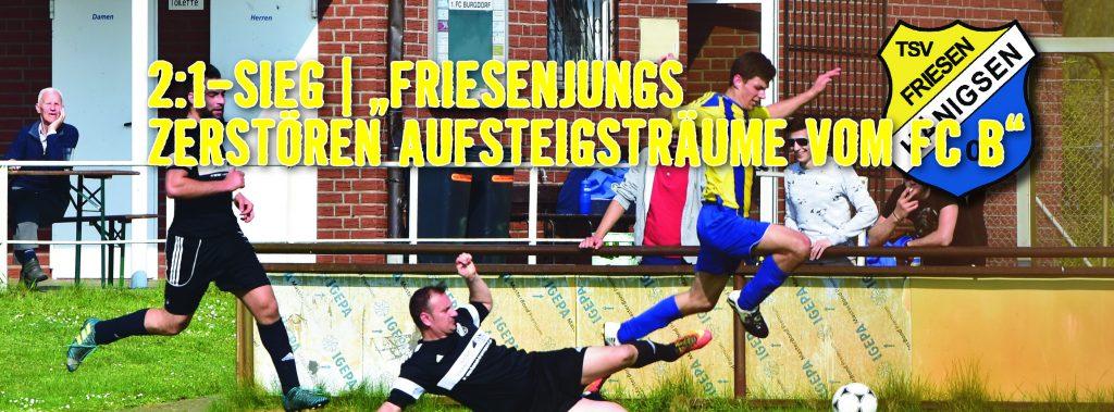 TSV FH - Internetbild Herren 1 - FC Burgdorf