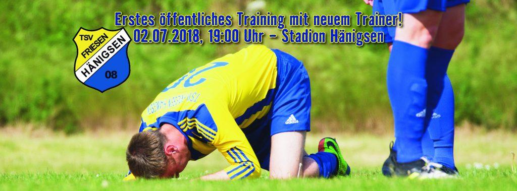 TSV FH - Internetbild Herren 1 - Vorbereitung 2018-07-02